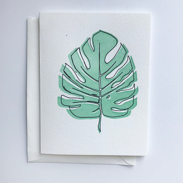 Monstera - Steel Petal Press