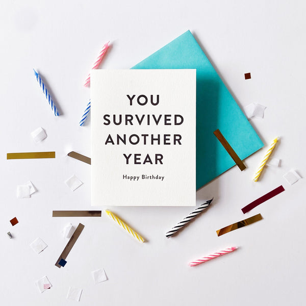 You Survived - Steel Petal Press