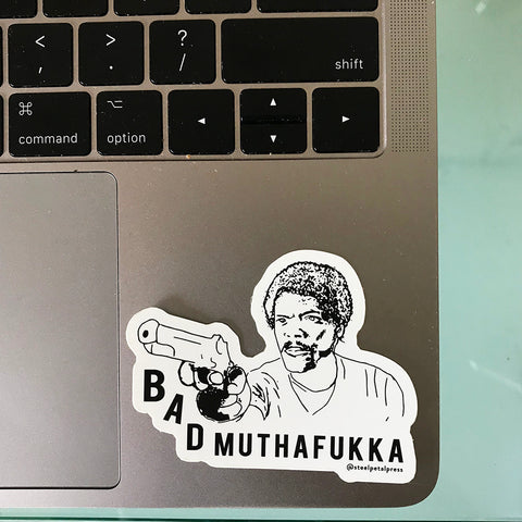 Muthafukka Sticker - Steel Petal Press