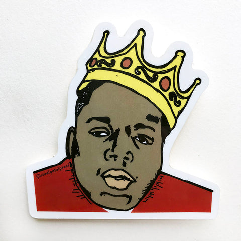 Steel Petal Press - Biggie Sticker