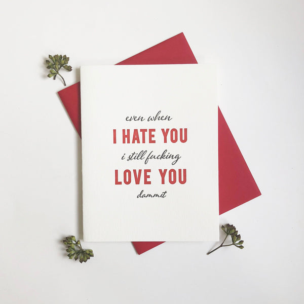 Hate You Love You - Steel Petal Press