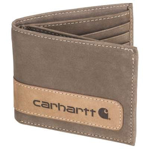 Two-Tone Billfold with Wing Wallet