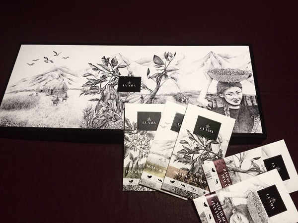 DELUXE GIFT SET OF 5 ORGANIC HANDMADE CHOCOLATES