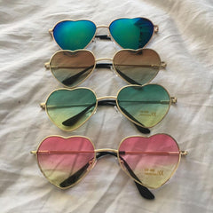 Heart Rimmed Sunglasses