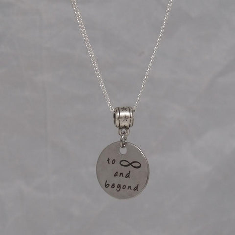 To Infinity and Beyond Necklace