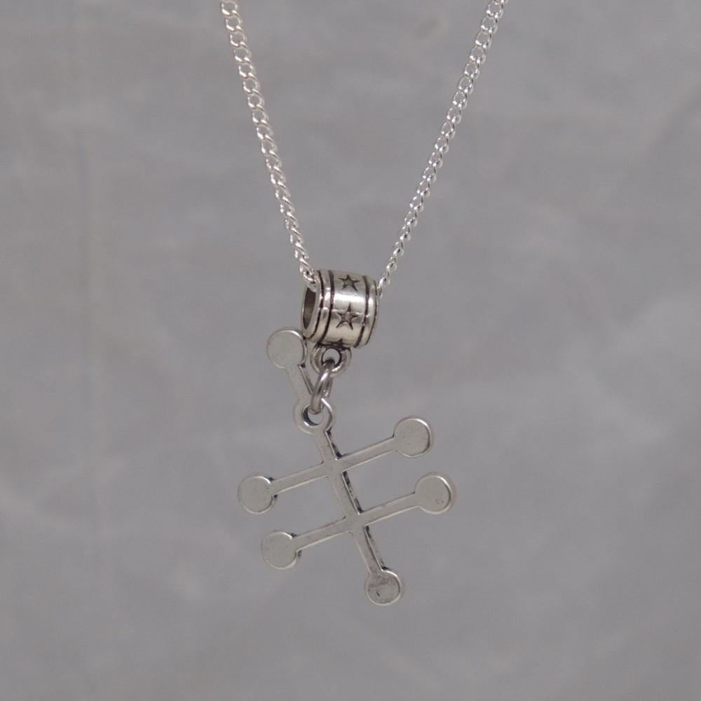 Vodka Molecule Necklace