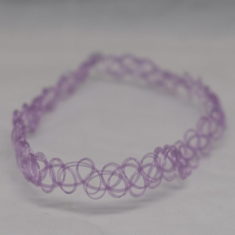Lilac Tattoo Choker
