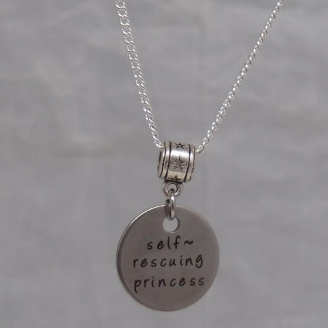 Self-Rescuing Princess Necklace