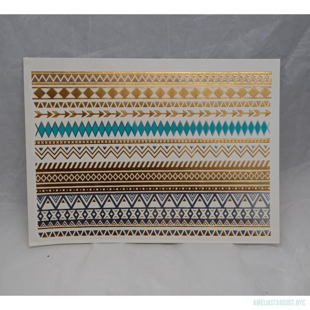Turquoise Armband Flash Tattoos