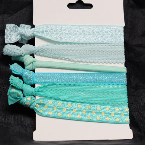 Seafoam Hair Ties