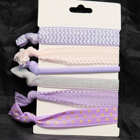Lavender Hair Ties