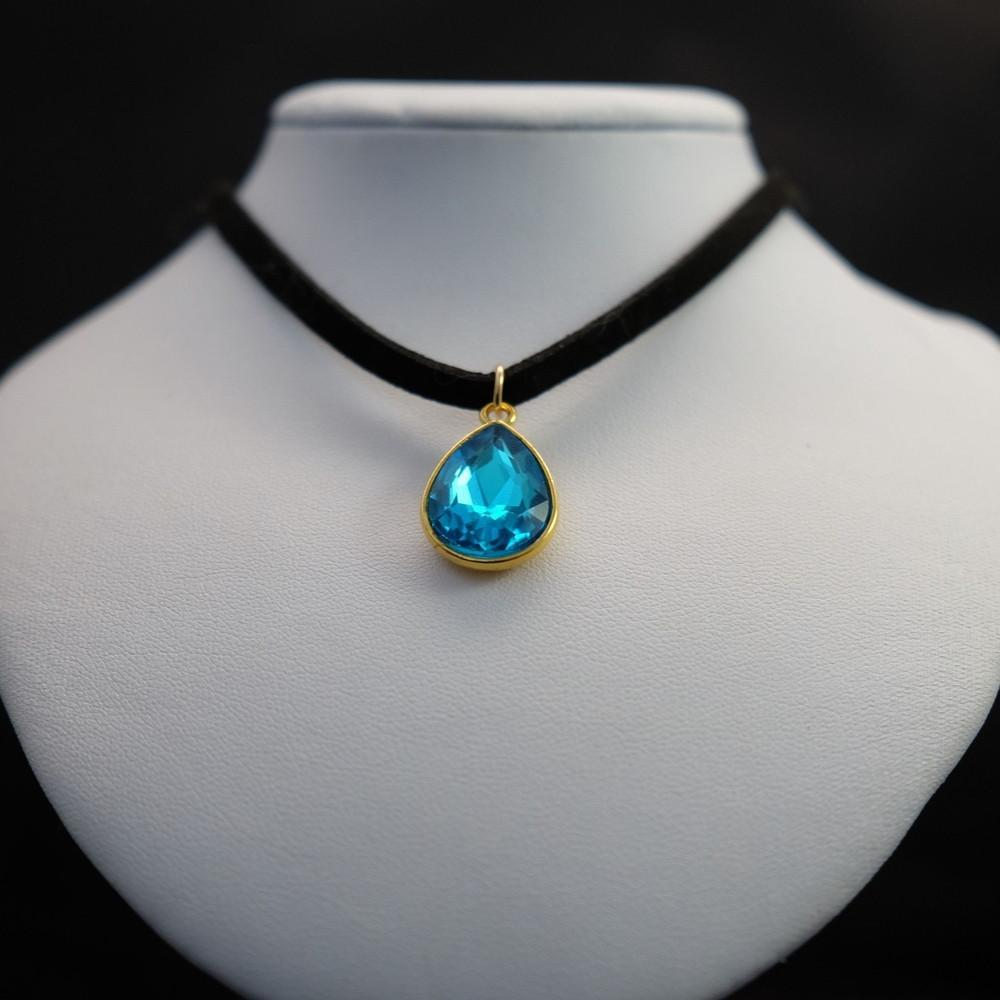 Gem Drop Choker