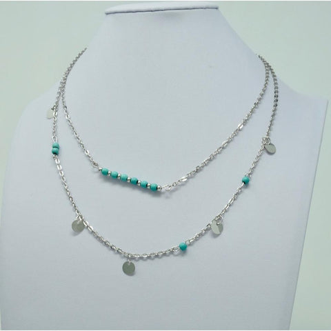 Turquoise Double Necklace