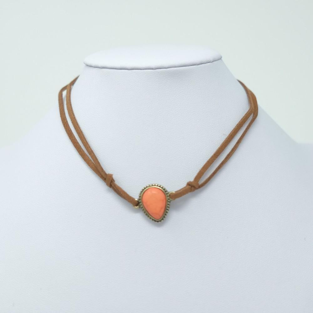 Pointed Stone Choker