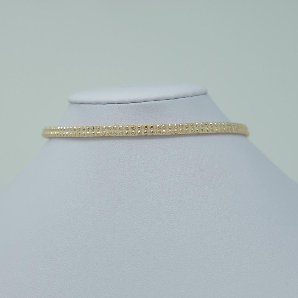 Tan Studded Choker