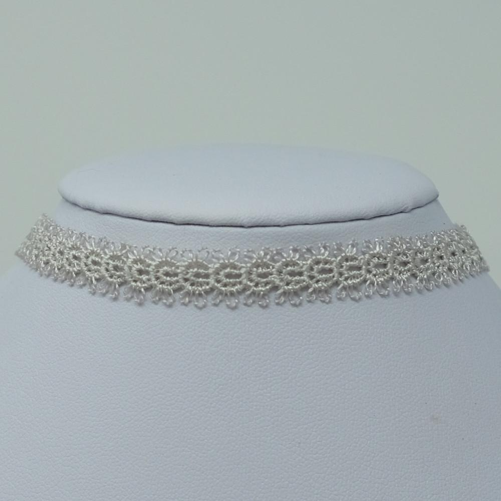 Cream Crochet Choker