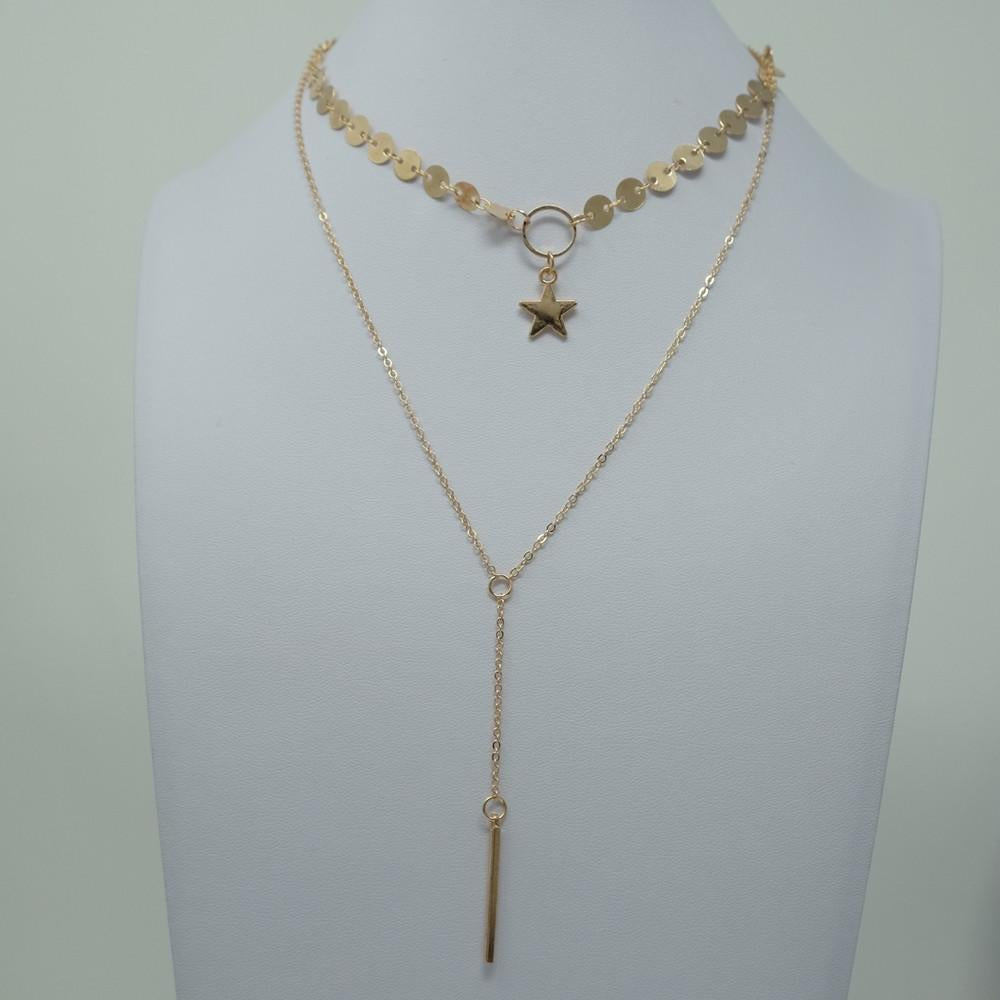 Starlight Double Necklace