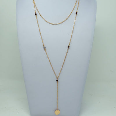 Fess Necklace
