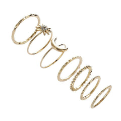Burst Midi Ring Set
