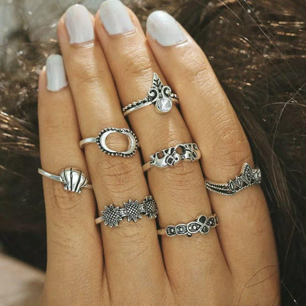 Breezy Ring Set