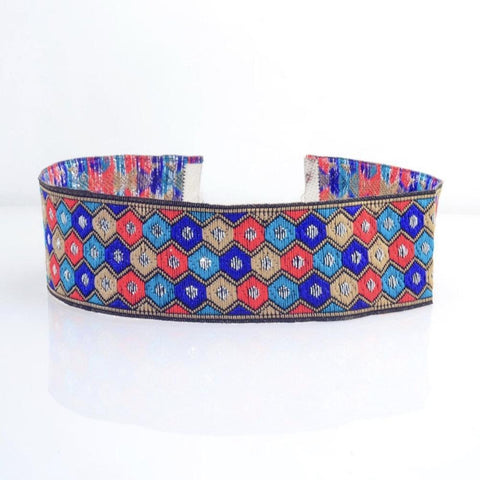 Hexagon Pattern Choker