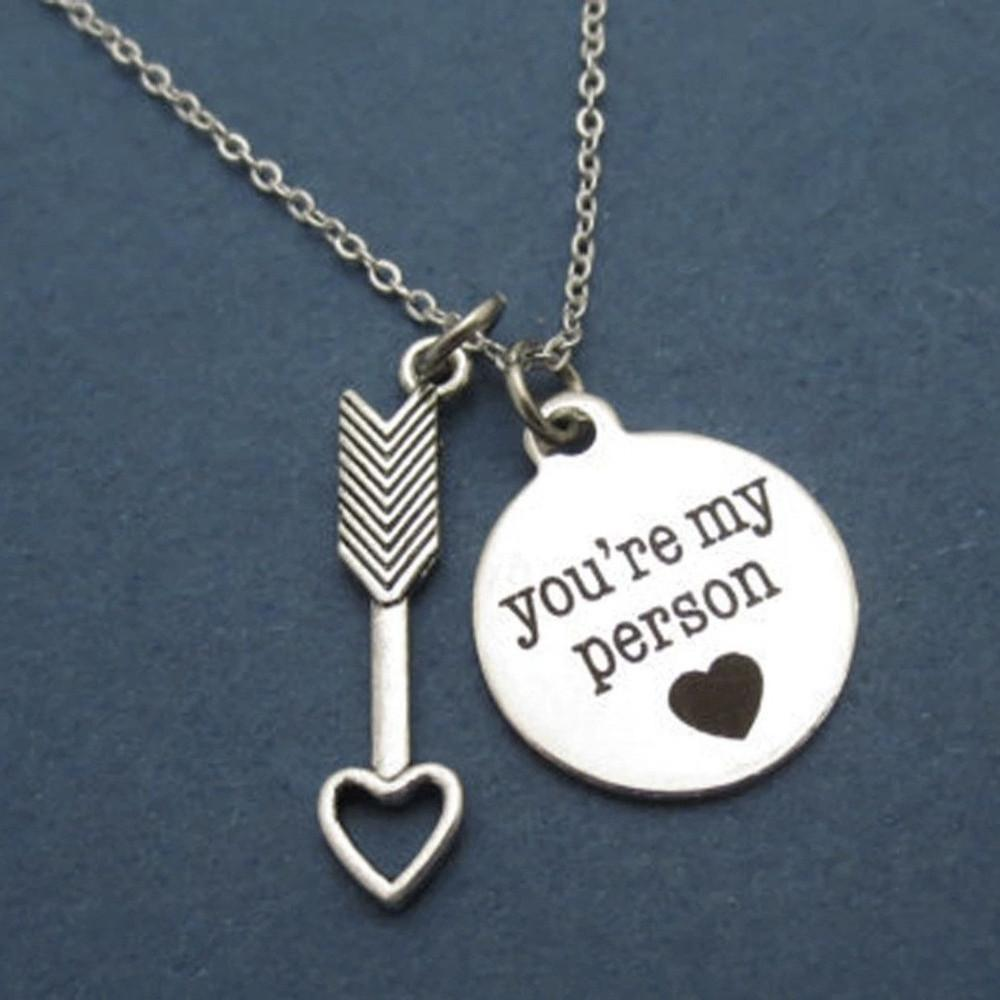 you re my person necklace amelia stardust