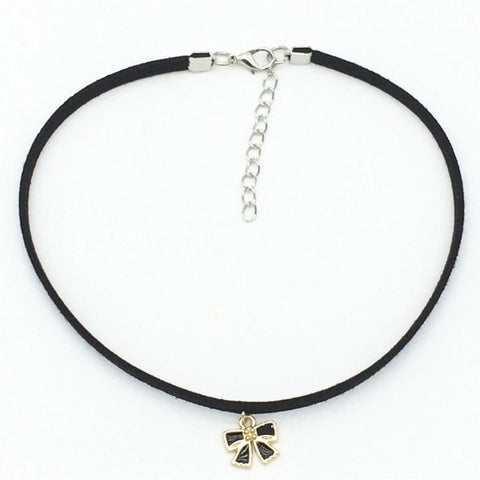 Bow Suede Choker