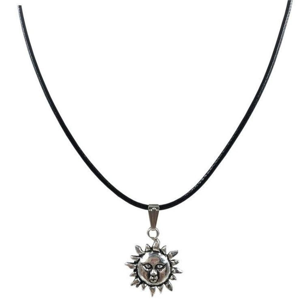 Sun Charm Necklace