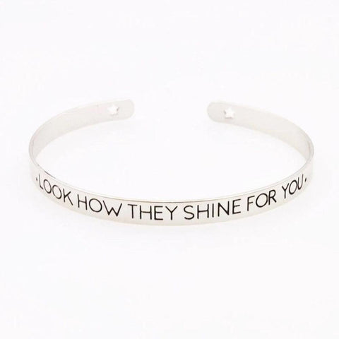 Look How They Shine For You Bracelet