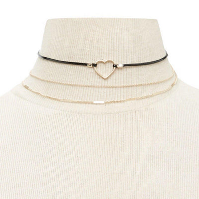 Heart Strings Choker