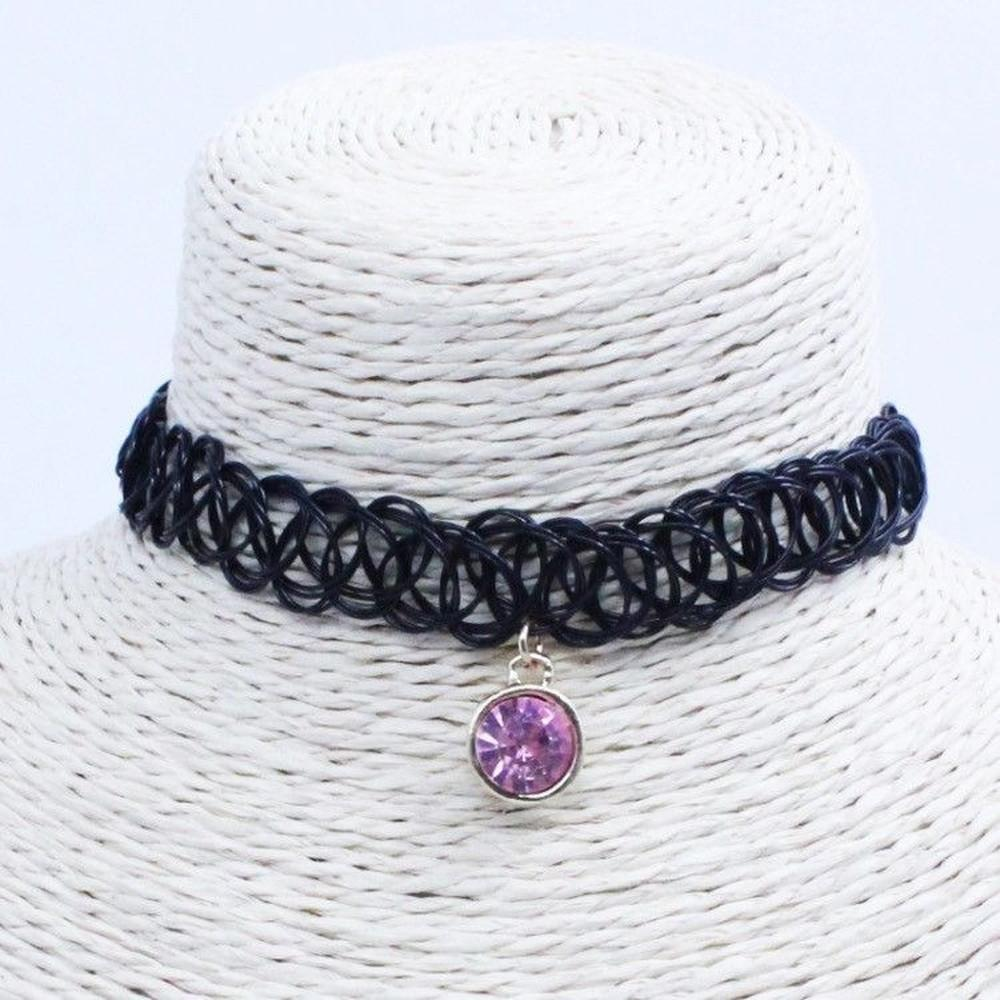 Gem Tattoo Choker