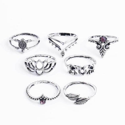 Dominique Midi Ring Set