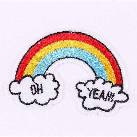 Oh Yeah Rainbow Patch