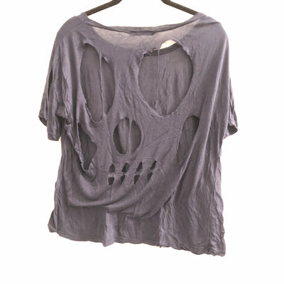 Brandy Melville Back Skull Cut Out Shirt