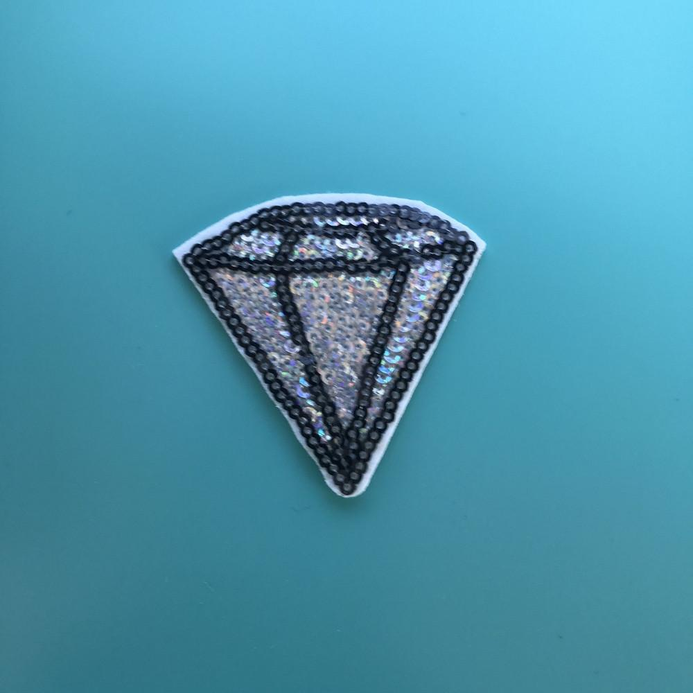 Diamonds are a Girl's Best Friend Patch