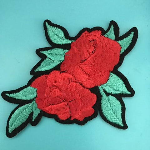 Double Rose Patch