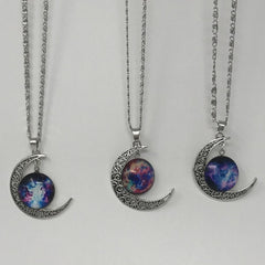 BOGO50%OFF! Galaxy Moon Necklaces