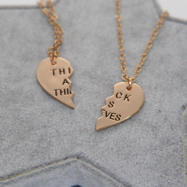 Thick As Thieves Necklace Set