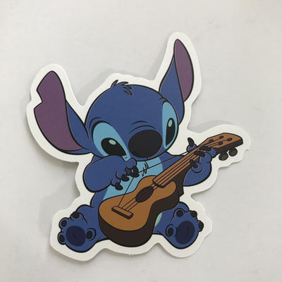 Stitch and Uke Sticker