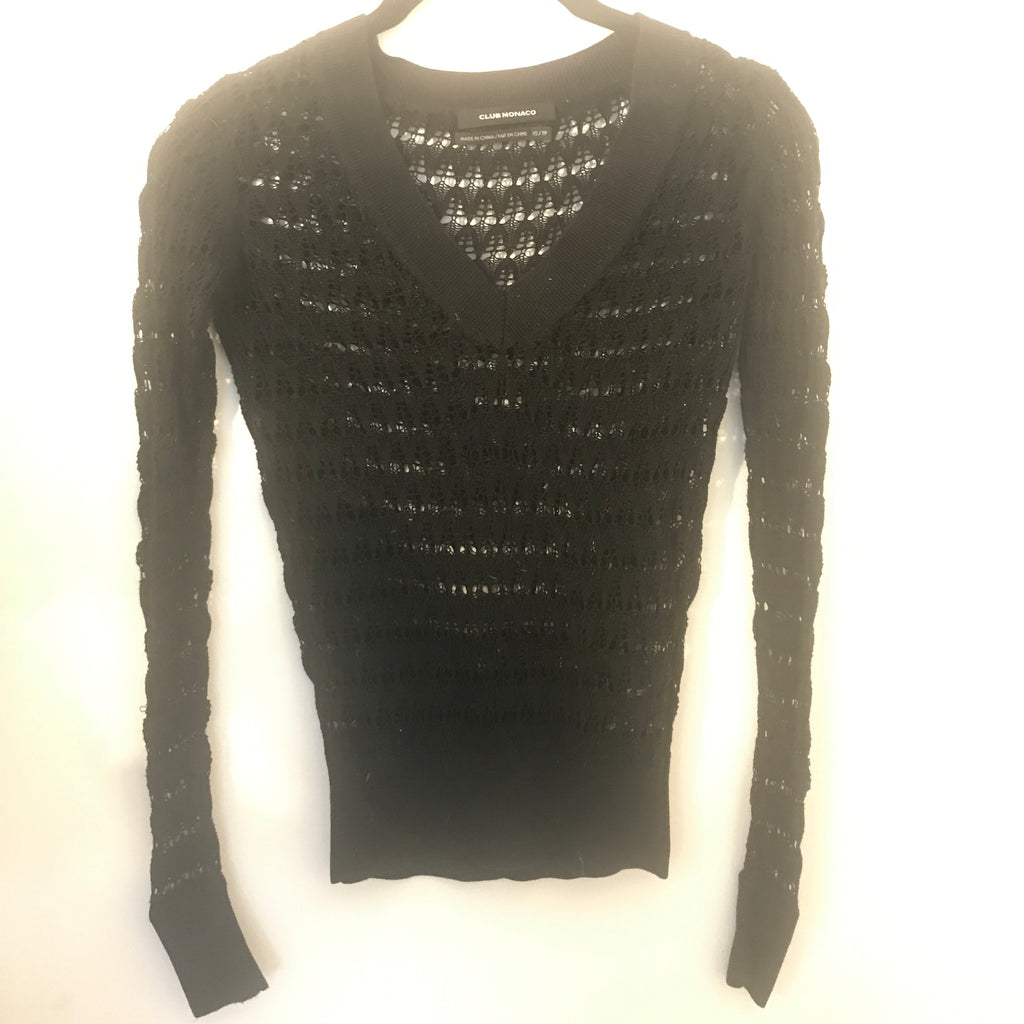 Crochet Club Monaco Sweater