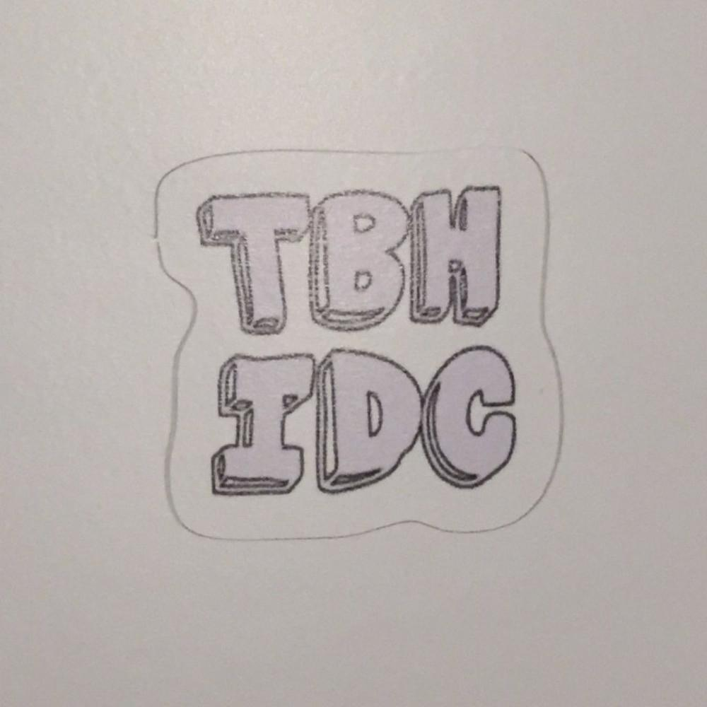 TBH IDC Sticker