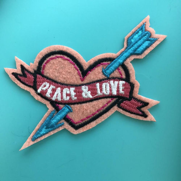 Peace and Love Patch