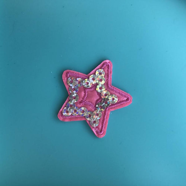 Tiny Sequin Star Patch
