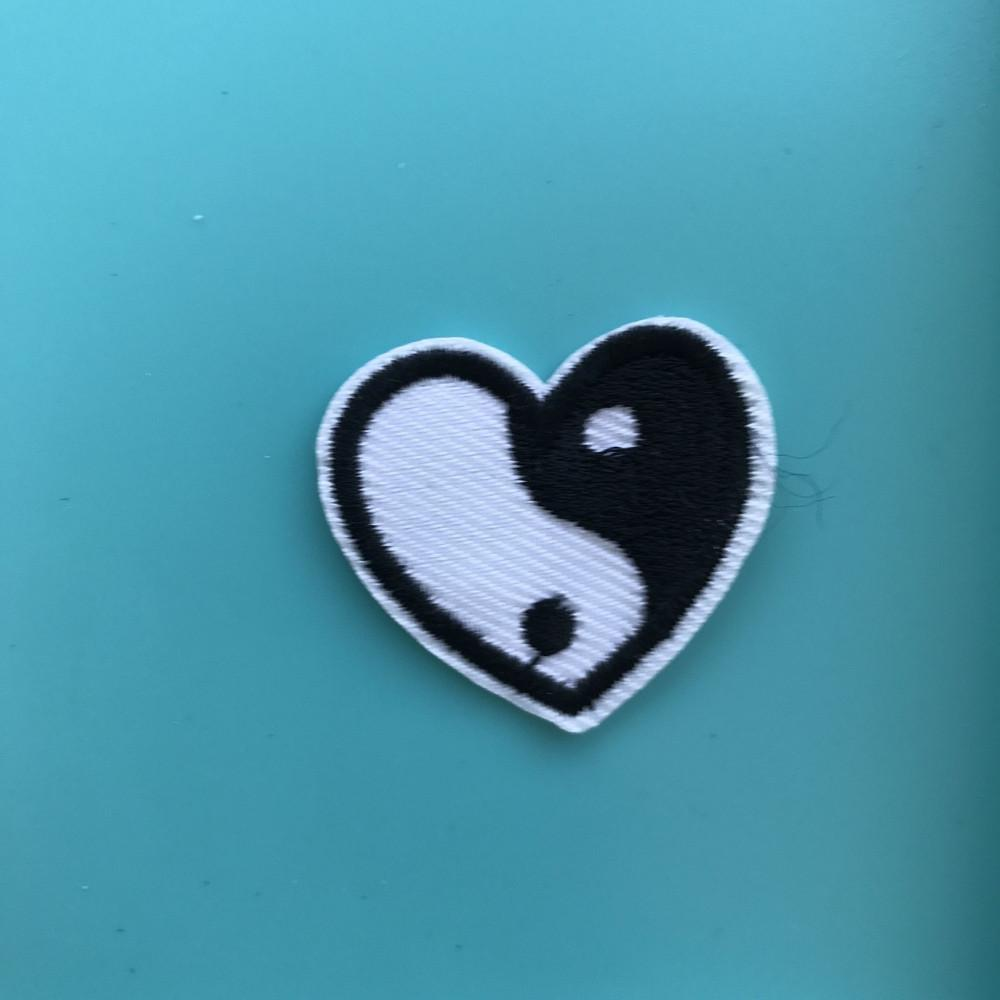 Yin Yang Heart Patch