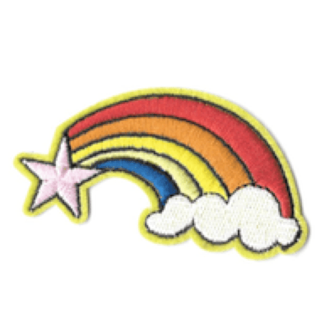 Rainbow Shooting Star Patch