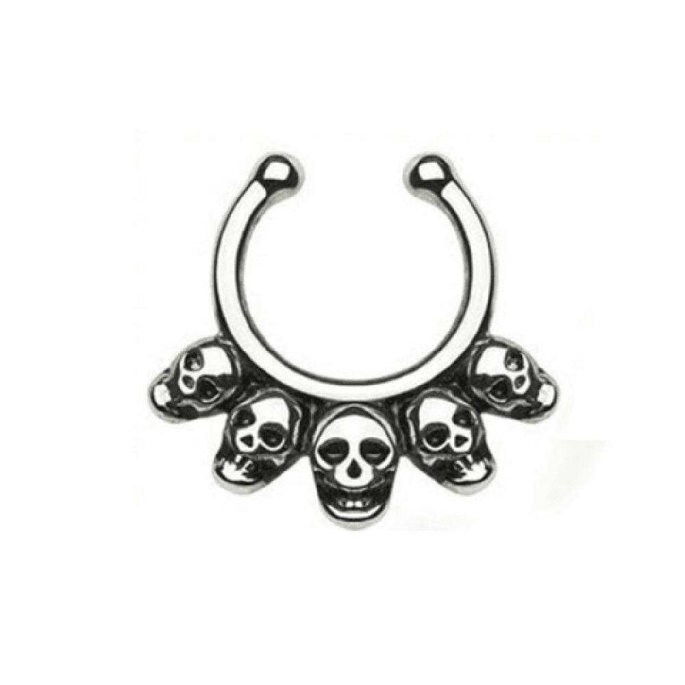 Skull Septum Ring