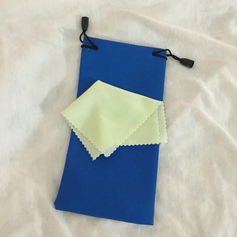 Sunglasses Pouch + Microfiber Cloth