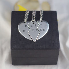 Best Bitches Necklace Set