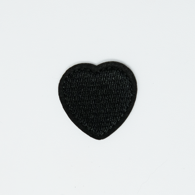Lil Black Heart Patch