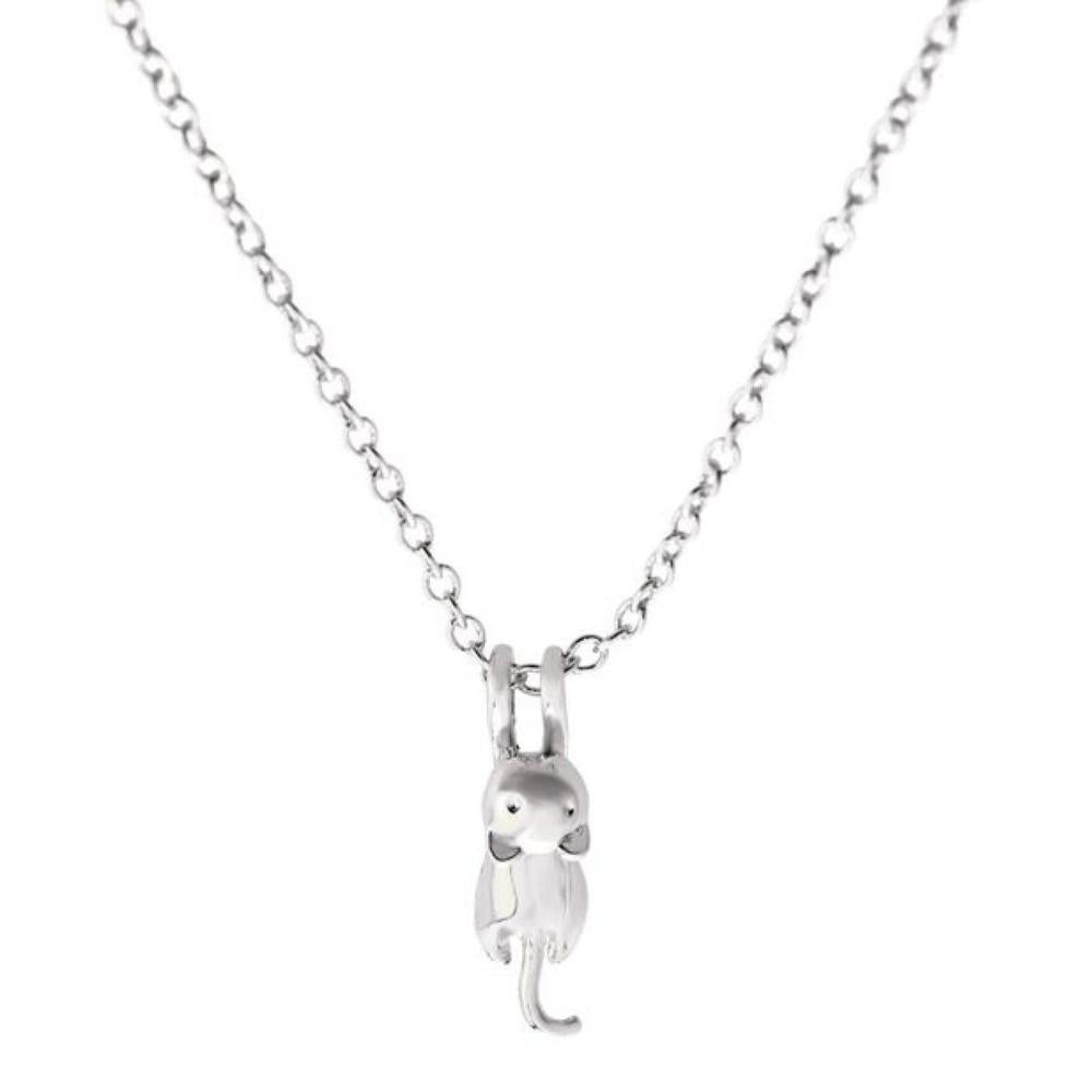 Playful Kitty Necklace